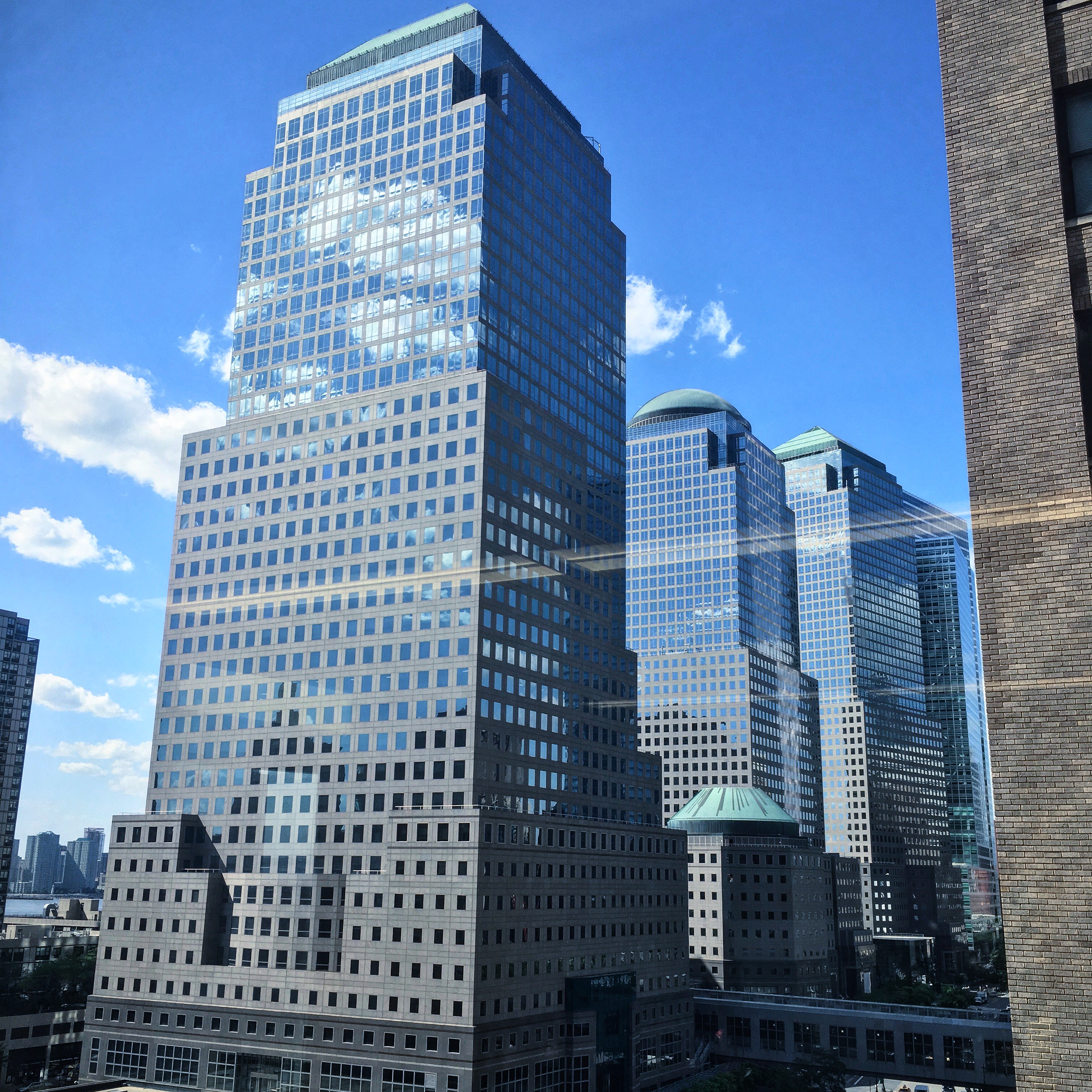 Buildings in Downtown, New York City