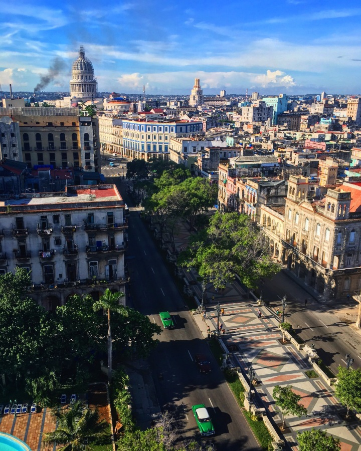 View of the city, Havana, Cuba