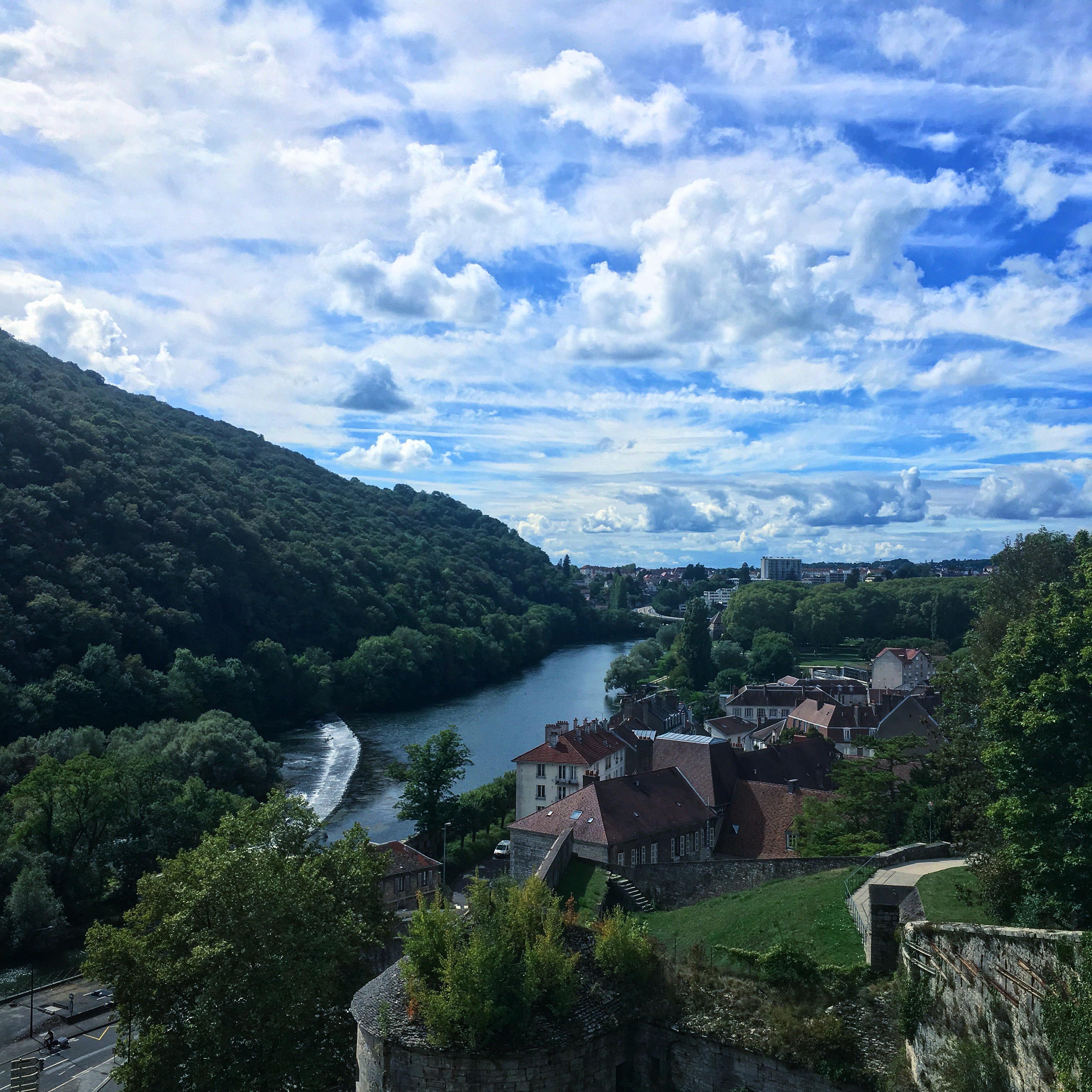 Vue depuis la Citadelle, Besançon, France
