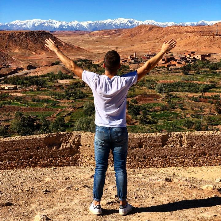 The Atlas, Aït-ben-Haddou, Morocco.