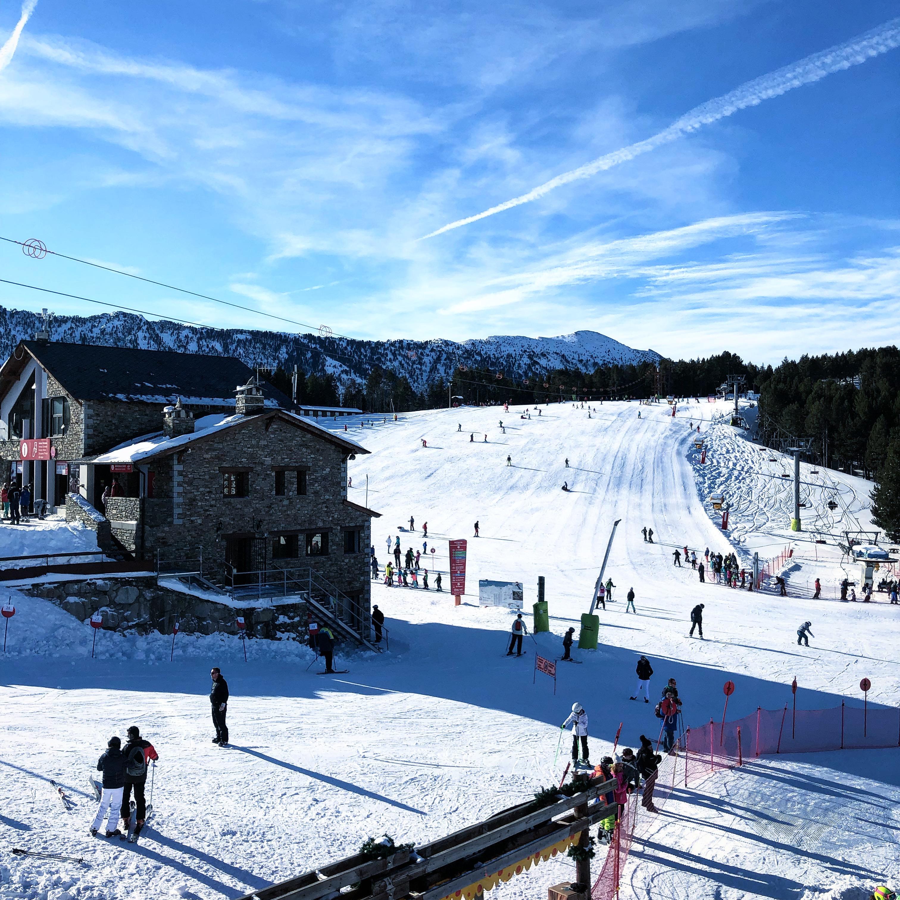 Ski resort in Vallnord, Andorra 2