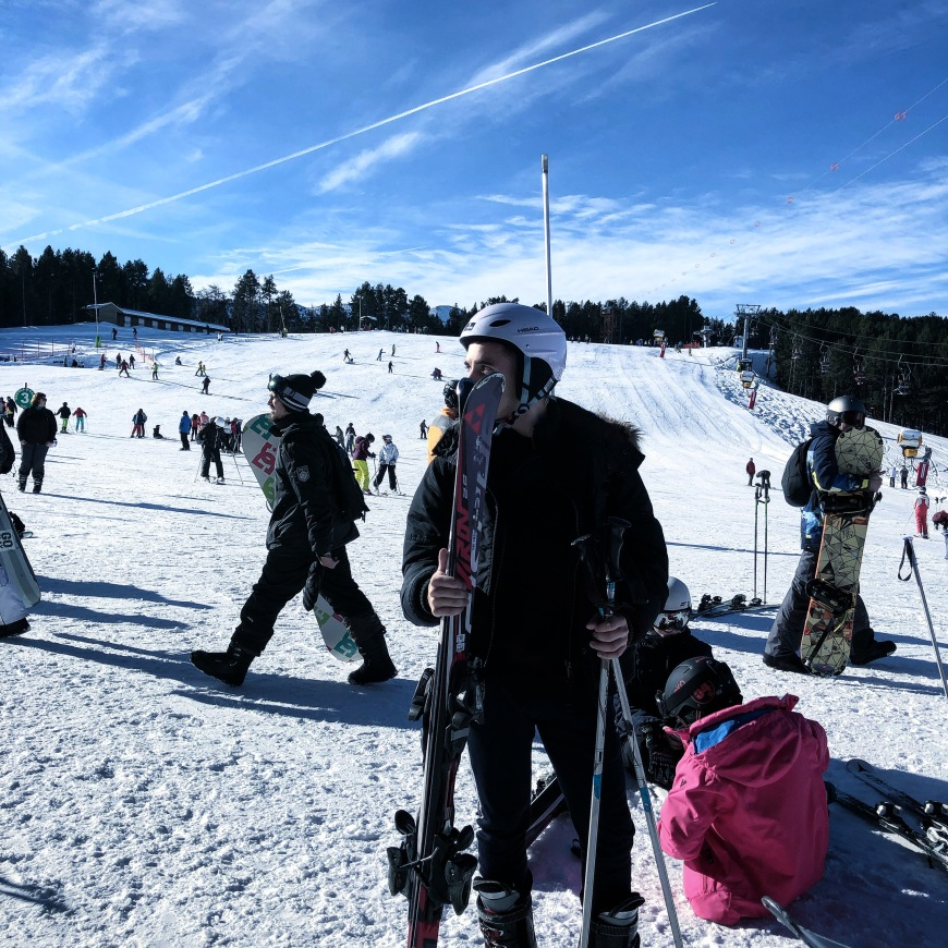 Picture of me, skiing in Vallnord, Andorra