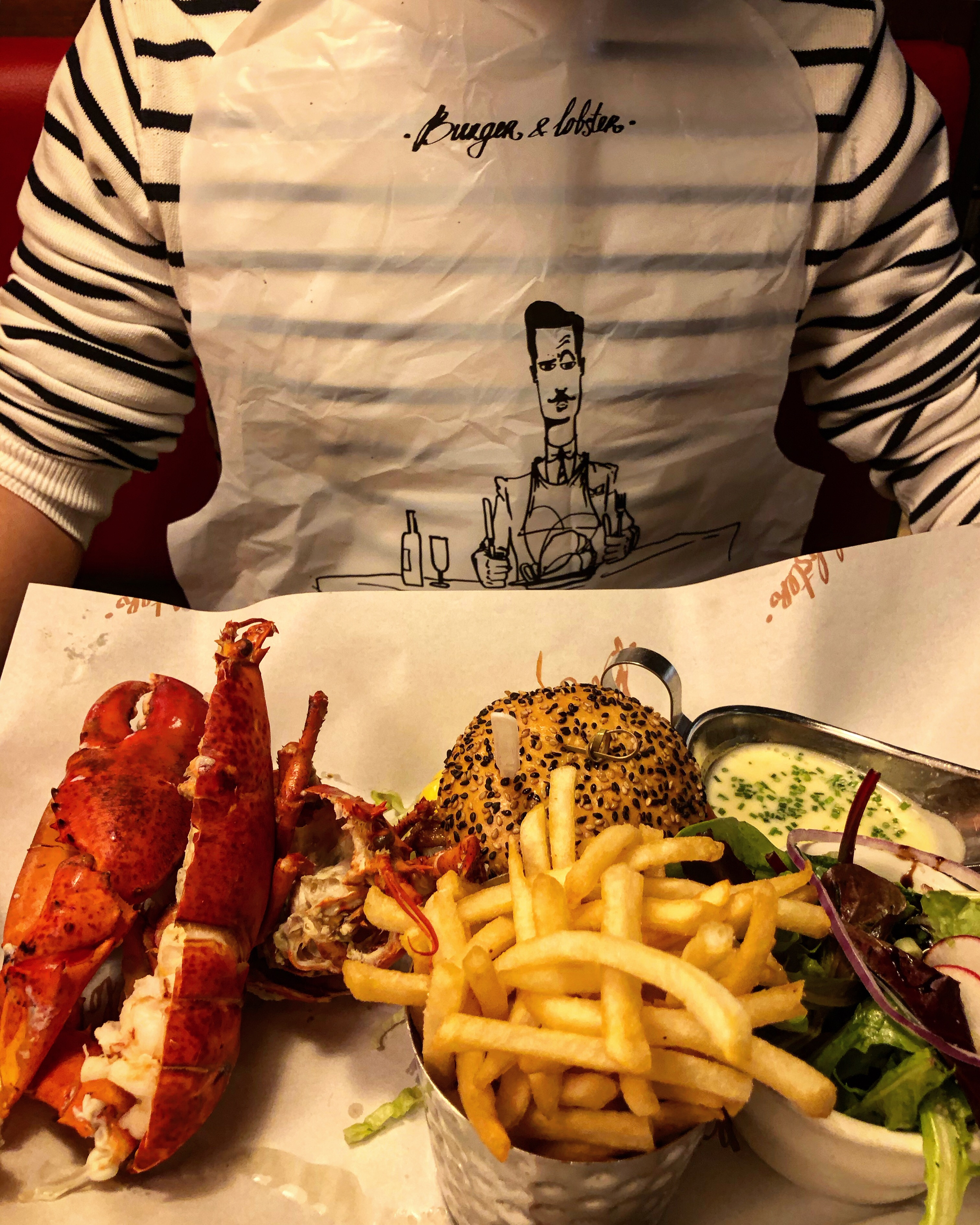 Burger & Lobster, Trio Combo, New York City.